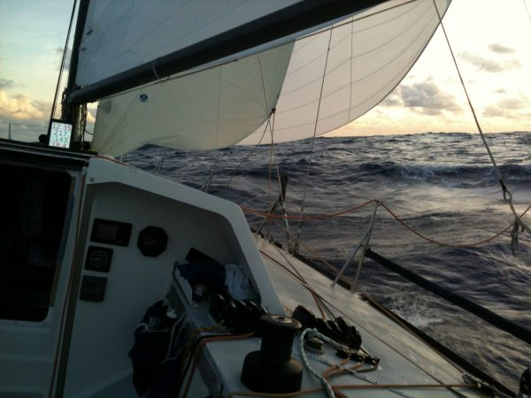 Offshore racing across the Atlantic